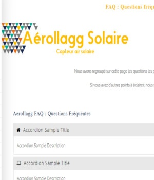 faq faqs question frequente aerollagg panneau solaire air