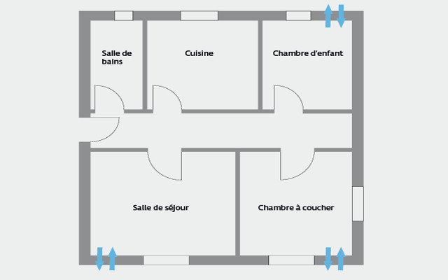 aerotube ventilation haut rendement ceramique air sain pur traitement humidite